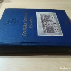 Libros de segunda mano: ANUARIO SANITARIO ESPAÑOL / 1946 / / AB106. Lote 261320425