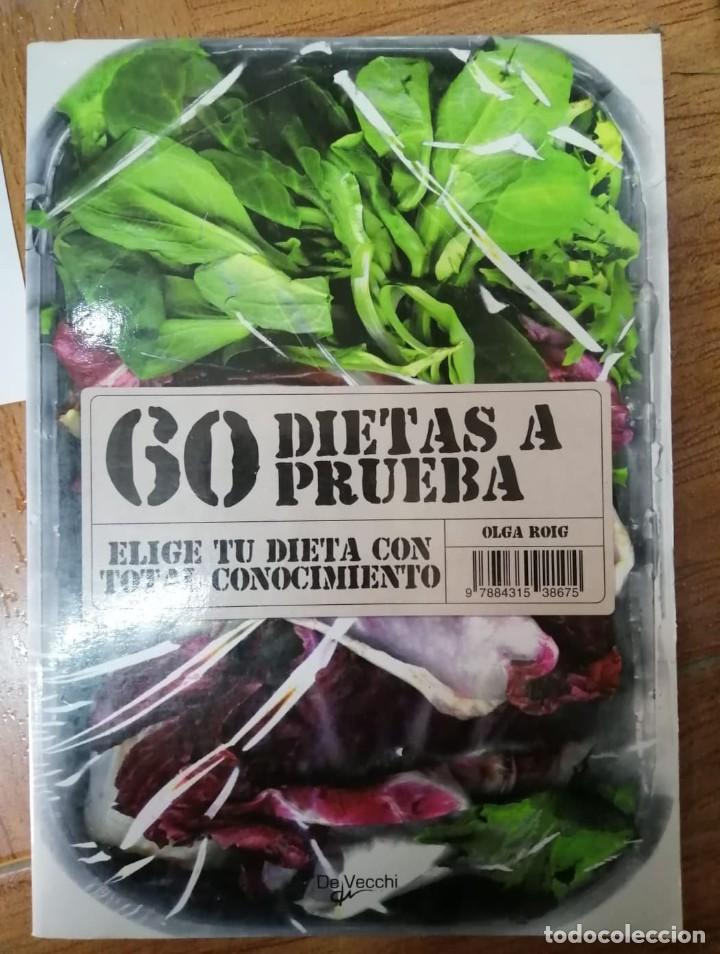 60 DIETAS A PRUEBA (Libros de Segunda Mano - Ciencias, Manuales y Oficios - Medicina, Farmacia y Salud)