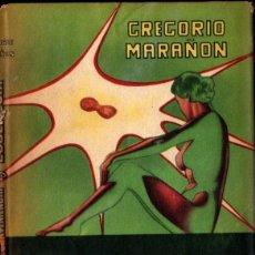 Libros de segunda mano: GREGORIO MARAÑÓN : AMOR CONVENIENCIA Y EUGENESIA (MÉXICO, 1955). Lote 261659380