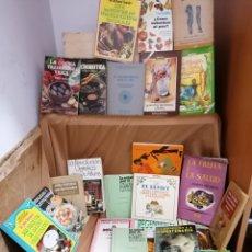 Libros de segunda mano: LOTE 24 LIBROS SALUD Y NUTRICIÓN GRAN LOTE COLECCIÓN. Lote 262363325