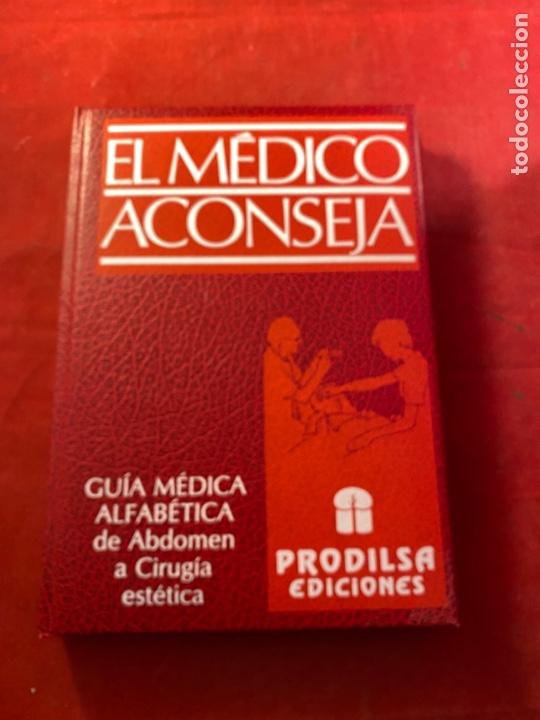 Libros de segunda mano: Colección EL MÉDICO ACONSEJA - 8 TOMOS 1990 - Foto 2 - 262552105