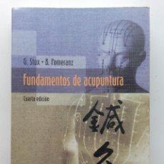 Libros de segunda mano: FUNDAMENTOS DE ACUPUNTURA - GABRIEL / POMERANZ STUX - ED. SPINGER-VERLAG IBERICA - 2000. Lote 262993860