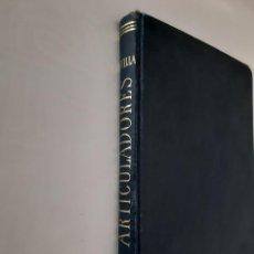 Libros de segunda mano: ARTICULADORES Y ARTICULACION DIENTES ARTIFICIALES DENTADURAS COMPLETAS LIBRO MEDICO DENTISTA 1952. Lote 263656870