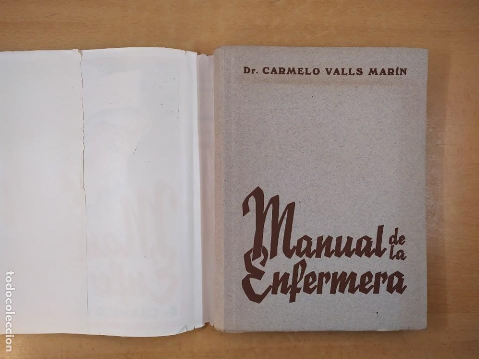 Libros de segunda mano: MANUAL DE LA ENFERMERA / CARMELO VALLS MARIN / 1ªed.1940. LIBRERIA GENERAL. ZARAGOZA - Foto 2 - 269247168