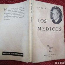Libros de segunda mano: MEDICINA - LOS MEDICOS - AZORIN - EDI PROMETEO 1966 190 PAG 19CM - CORREO 2.50€ + INFO. Lote 269721303