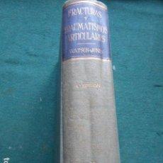 Libri di seconda mano: FRACTURAS Y TRAUMATISMOS ARTICULARES WATSON-JONES SALVAT. Lote 270518498