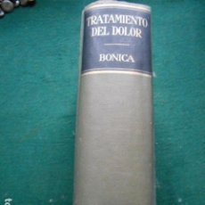 Libros de segunda mano: TRATAMIENTO DEL DOLOR BONICA SALVAT. Lote 270560413