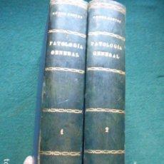 Libros de segunda mano: MANUAL DE PATOLOGIA GENERAL NOVOA SANTOS 1928 TOMO I Y II. Lote 270561793