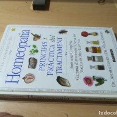 Libros de segunda mano: HOMEOPATIA / PRICIPIS I PRACTICA DEL TRACTAMENT / RAICES / AJ18 OTROS IDIOMAS NATURAL, ALTERNATIVA. Lote 270606718