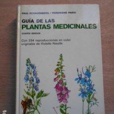 Libri di seconda mano: GUÍA DE LAS PLANTAS MEDICINALES OMEGA. Lote 276780573