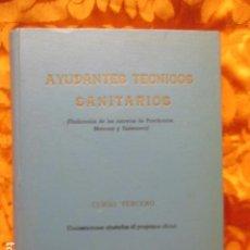 Libros de segunda mano: AYUDANTES TECNICOS SANITARIOS. Lote 278586863
