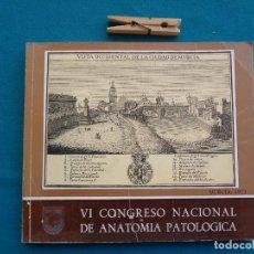 Libros de segunda mano: VI CONGRESO NACIONAL DE ANATOMÍA PATOLÓGICA, MURCIA 1973. Lote 278797993
