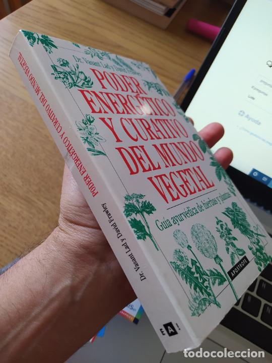 Libros de segunda mano: Poder energético y curativo del mundo vegetal, Libro de Vasant. Ed. Apostrofe, 1995 Raro - Foto 3 - 278938678