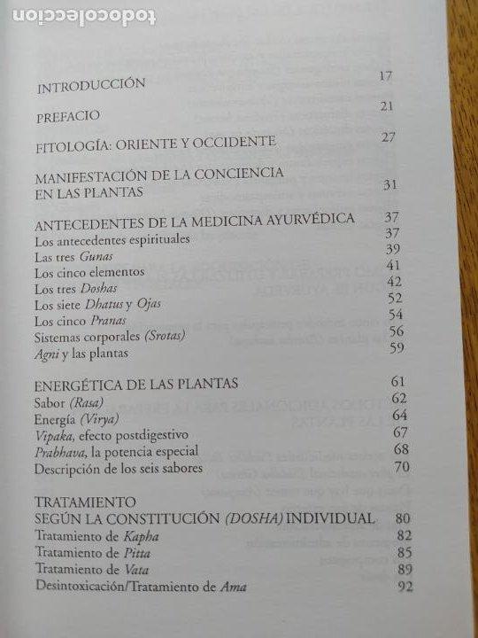 Libros de segunda mano: Poder energético y curativo del mundo vegetal, Libro de Vasant. Ed. Apostrofe, 1995 Raro - Foto 7 - 278938678