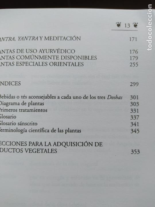 Libros de segunda mano: Poder energético y curativo del mundo vegetal, Libro de Vasant. Ed. Apostrofe, 1995 Raro - Foto 9 - 278938678