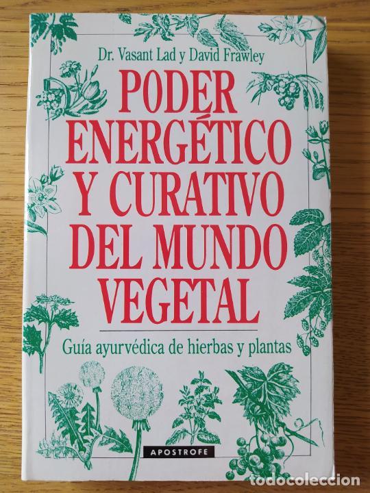 PODER ENERGÉTICO Y CURATIVO DEL MUNDO VEGETAL, LIBRO DE VASANT. ED. APOSTROFE, 1995 RARO (Libros de Segunda Mano - Ciencias, Manuales y Oficios - Medicina, Farmacia y Salud)