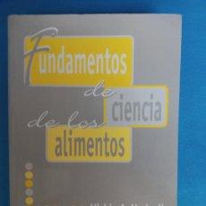 Libros de segunda mano: FUNDAMENTO DE CIENCIA DE LOS ALIMENTOS - VICKIE A. VACLAVIK. Lote 282940368