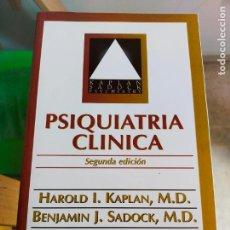 Libros de segunda mano: PSIQUIATRIA CLINICA. KAPLAN. Lote 287386718
