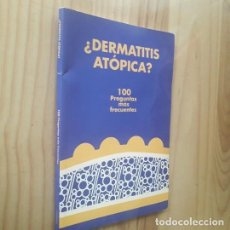 Libros de segunda mano: LA DERMATITIS ATÓPICA. 100 PREGUNTAS MÁS FRECUENTES - PABLO; LONGO IMEDIO, ISABEL; AVILÉS IZQUIERDO,. Lote 287885853