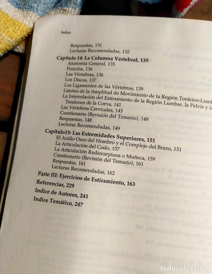 Libros de segunda mano: LOS ESTIRAMIENTOS. DESARROLLO DE EJERCICIOS. BASES CIENTIFICAS Y DESARROLLO DE EJERCICIOS - Foto 6 - 287961608