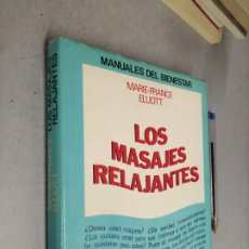 Libros de segunda mano: LOS MASAJES RELAJANTES / MARIE-FRANCE ELLIOTT / MANUALES DEL BIENESTAR - ED. MENSAJERO 1980. Lote 288062093