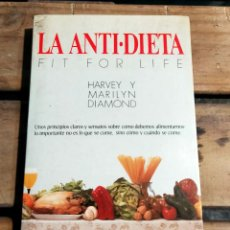 Libros de segunda mano: LA ANTI - DIETA. Lote 288580333