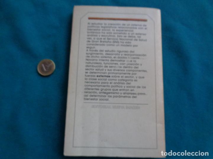 Libros de segunda mano: LUCHA DE CLASES, ESTADO Y MEDICINA. VICENTE NAVARRO. 1984 - Foto 3 - 288587988
