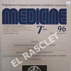 Libros de segunda mano: MEDICINE-PROGRAMA DE FORMACION CONTINUADA EN MEDICINA ASISTENCIAL Nº 96. Lote 295715798
