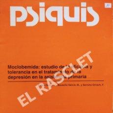 Libros de segunda mano: REVISTA PSIQUIS - VOL 14 AÑO 1993. Lote 295717403