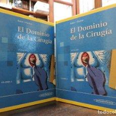 Libros de segunda mano: EL DOMINIO DE LA CIRUGÍA. TOMO I Y II. BAKER, FISCHER. 4ª ED. EDITORIAL MÉDICA PANAMERICANA 2004. Lote 296785553