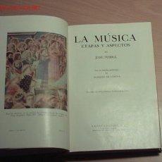 Libros de segunda mano: LA MUSICA. ETAPAS Y ASPECTOS.. Lote 19910618
