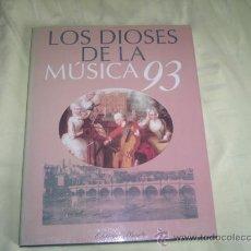 Libros de segunda mano: DIOSES DE LA MUSICA 93 , 5 VOLUMENES , , EDITORIAL PLANETA + REGALO. Lote 27358795