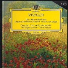 Libros de segunda mano: 1 LIBRO SOBRE LA VIDA DE VIVALDI - GRAN SELECCION DEUTSCHE GRAMMOPHON. Lote 27369263