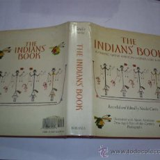 Libros de segunda mano: THE INDIANS' BOOK. AUTHENTIC NATIVE AMERICAN LEGENDS, LORE & MUSIC 1987 RM41399. Lote 21573489