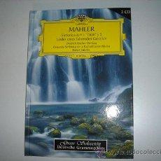 Libros de segunda mano: LIBRO-CD DE MAHLER, SINFONÍAS 1 Y 5 INCLUYE CD Y LIBRO. Lote 25220556
