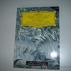 Libros de segunda mano: LIBRO-CD DE PROKOFIEV Y SHOSTAKOVICH . Lote 21666388