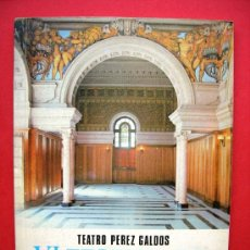 Libros de segunda mano: VI FESTIVAL DE OPERA - TEATRO PÉREZ GALDÓS. Lote 21859910