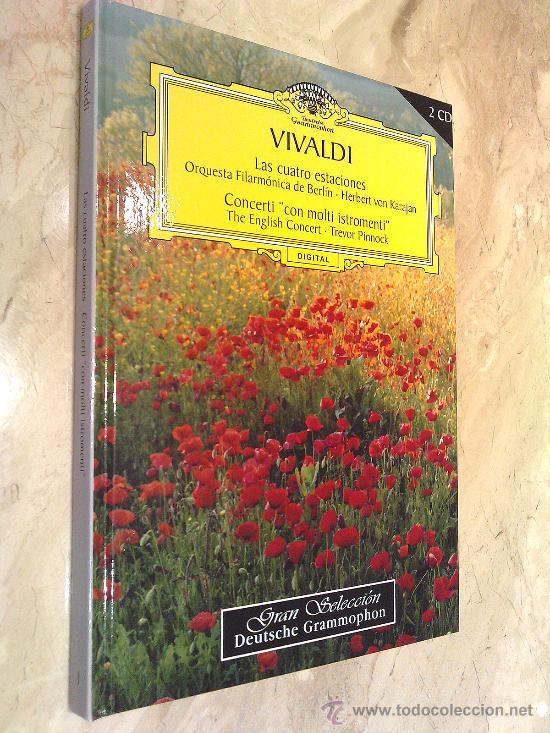LIBRO SOBRE VIVALDI SU HISTORIA Y SU MÚSICA CON 2 CD INCLUIDOS PESO 400 GR. 20 X 17 CM. PORTE GRATIS (Libros de Segunda Mano - Bellas artes, ocio y coleccionismo - Música)