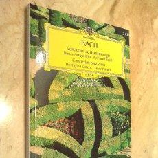 Libros de segunda mano: LIBRO SOBRE BACH, SU HISTORIA Y SU MÚSICA, CON 2 CD INCLUIDOS, PESO 400 GR. TAMAÑO 20 X 17 CM.. Lote 27465302