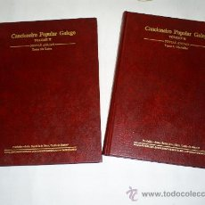 Libros de segunda mano: CANCIONEIRO POPULAR GALEGO GALICIA VOLUME II FESTAS ANUAIS 2 TOMOS 19860RM49836-V. Lote 26514888