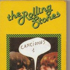 Libros de segunda mano: THE ROLLING STONES CANCIONES 1 (FUNDAMENTOS). Lote 26200214