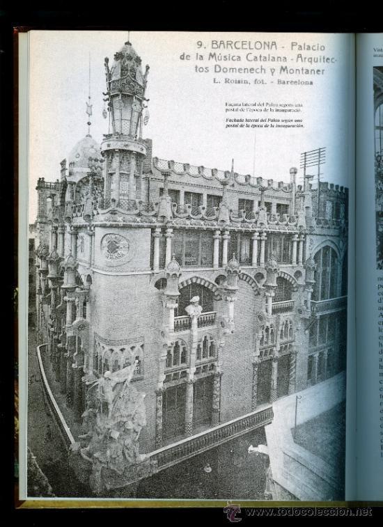 Libros de segunda mano: EL PALAU DE LA MUSICA CATALANA - 1987 - Foto 2 - 27765566