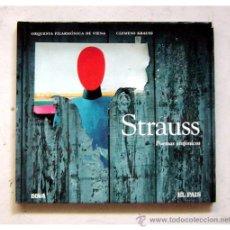 Libros de segunda mano: LIBRO + CD - STRAUSS, POEMAS SINFONICOS. Lote 28259816