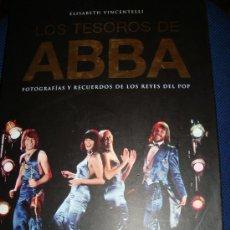 Libros de segunda mano: (139) LOS TESOROS DE ABBA FOTOGRAFIAS Y RECUERDOS DE LOS REYES DEL POP. Lote 29478659