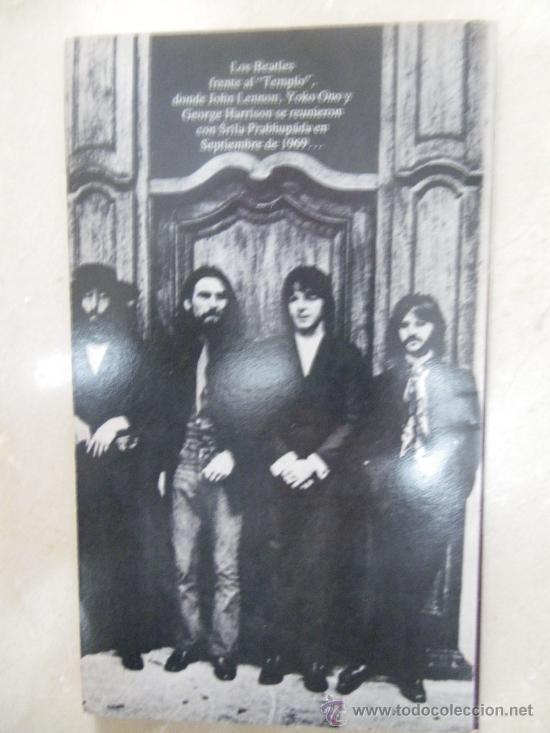 Libros de segunda mano: Libro: En busqueda de la liberación (Jhon Lennon y Prabhupada (Hare Krsna) (1982) - Foto 3 - 29549286