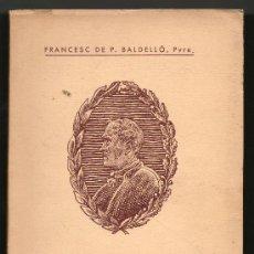 Libros de segunda mano: 1953 - MOSSEN CINTO I LA MUSICA - MN FRANCESC DE P.BALDELLO - CATALAN - FIRMA Y DEDICATORIA AUTOR. Lote 31143189