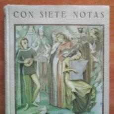 Libros de segunda mano: 1ª EDICIÓN 1944 CON SIETE NOTAS / LOS GENIOS DE LA MÚSICA - DIBUJOS DE NINO PAGOT. Lote 33724345