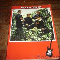 Libros de segunda mano: THE BEATLES 1962-1966. GUITAR TAB EDITION. PARTITURAS. EXCELENTE ESTADO.. Lote 34092755