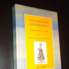 Libros de segunda mano: VILLANCICOS ASTURIANOS II / XUAN CARLOS BUSTO (EDITOR). Lote 35389899