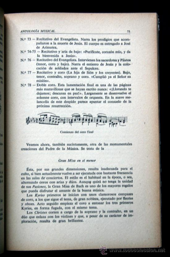 Libros de segunda mano: ANTOLOGIA MUSICAL. Guía de Auditores - VERNET, María Teresa.- - Foto 2 - 36574435